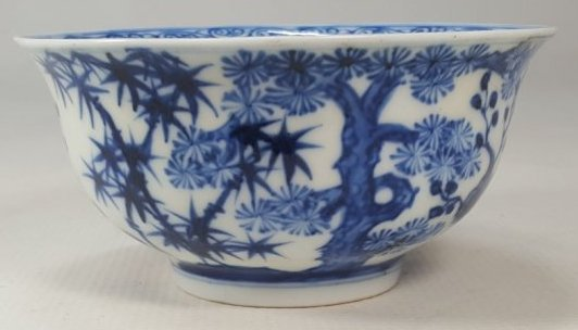 Chinese Blue and White Bowl Remake