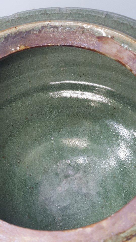 Chinese Porcelain Incense Burner Animal Detailed Lid - 9