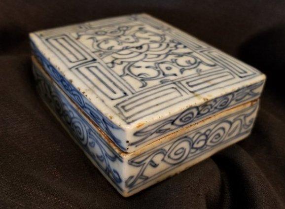 Chinese porcelain box Xianfeng - 8