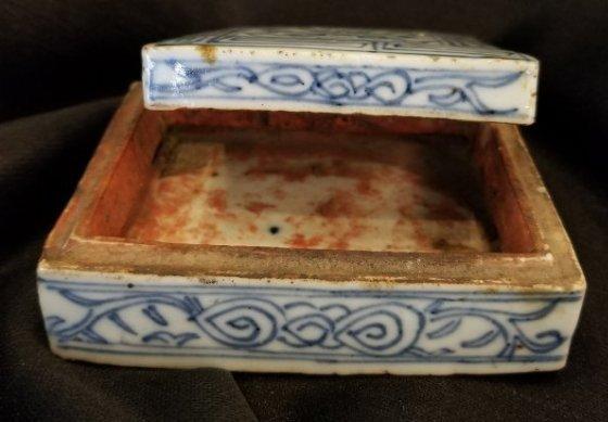 Chinese porcelain box Xianfeng - 9