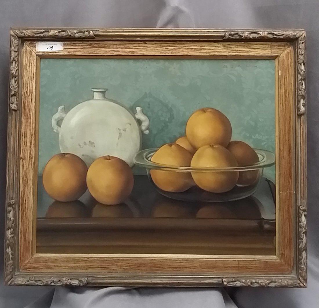 Korean artist 김숙진 (1931~) oil