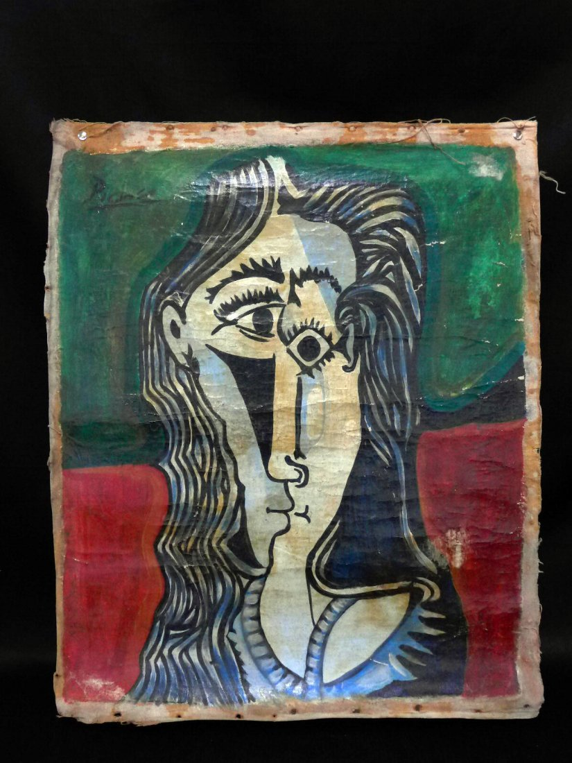 Picaso oil painting