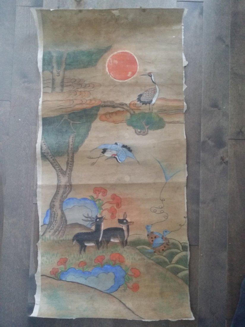 Korean Minwha Painting