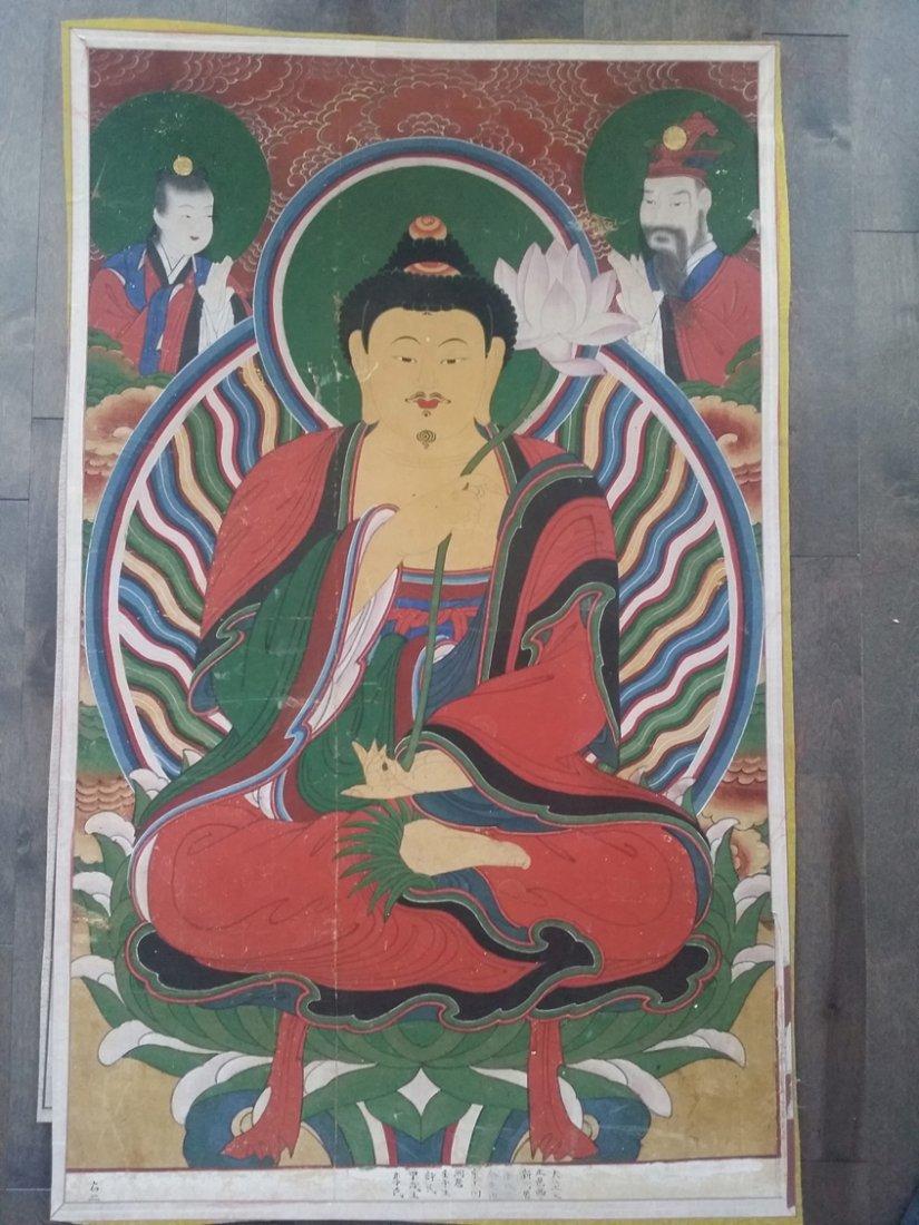 Korean Buddha painting