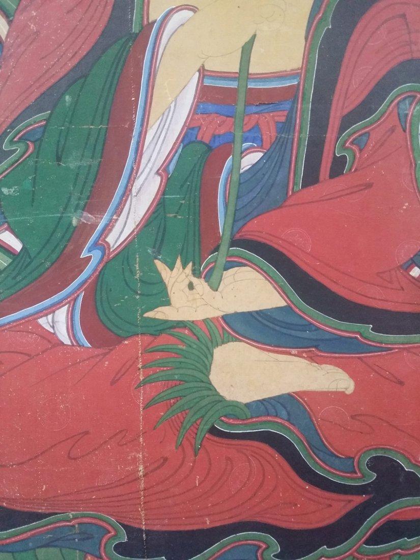 Korean Buddha painting - 2