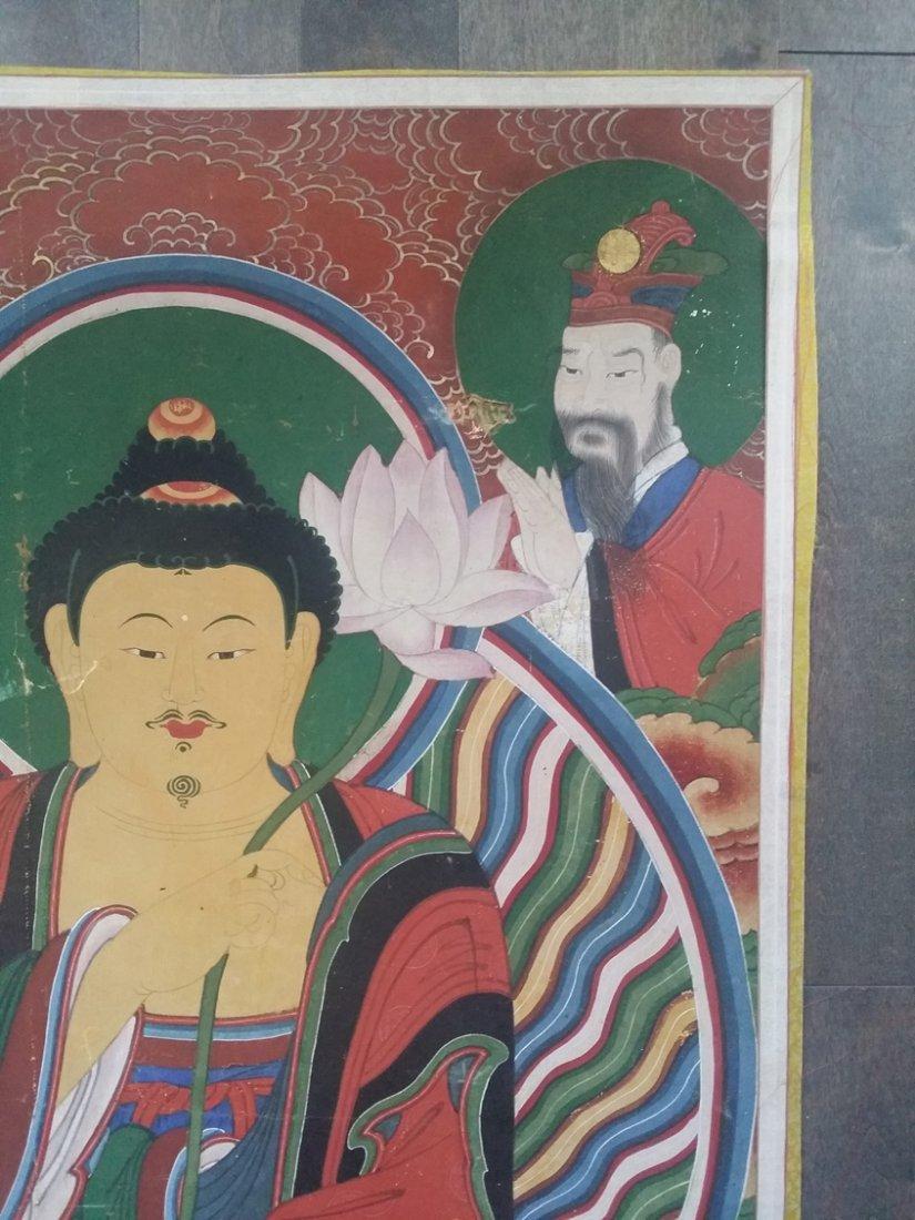 Korean Buddha painting - 3