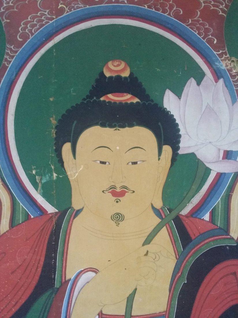 Korean Buddha painting - 5