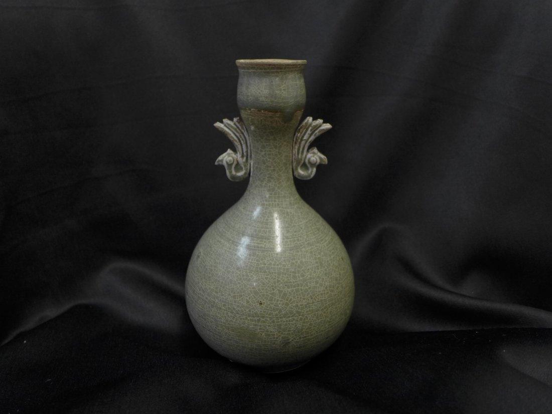 Korean  Antique Ceramic Flask