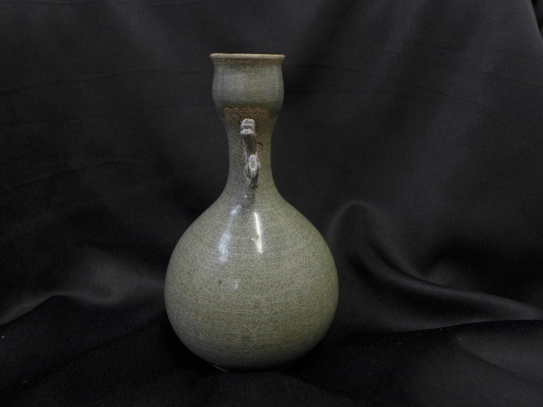 Korean  Antique Ceramic Flask - 2