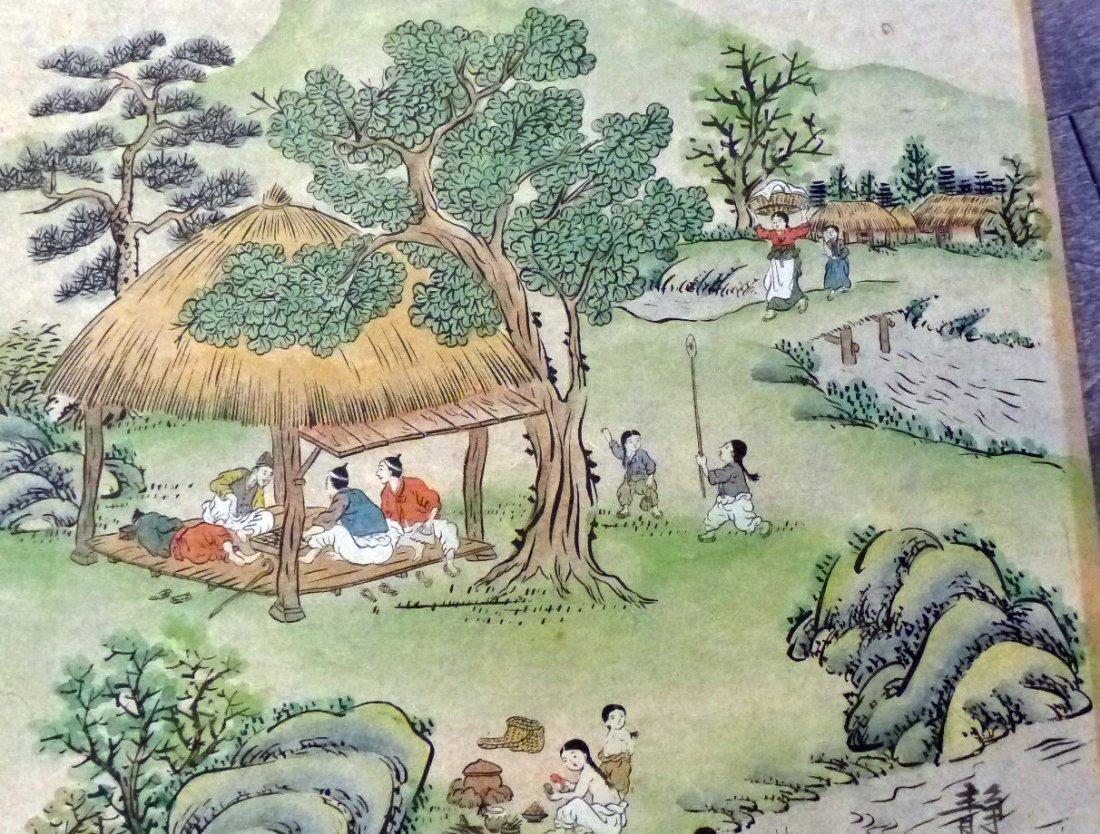 Korean Artist 2 Paintings/ Jung Ho - 3