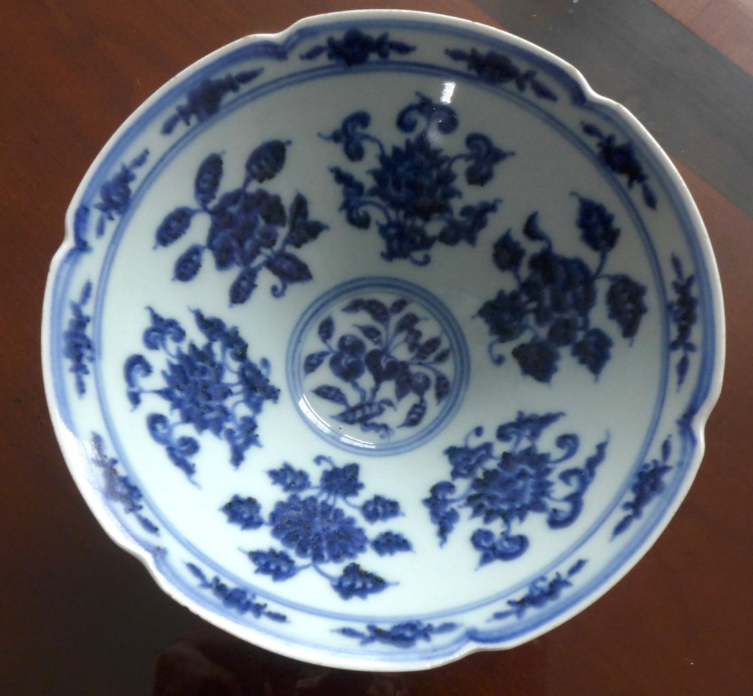 Chinese porcelain blue&white bowl,Ming dynasty