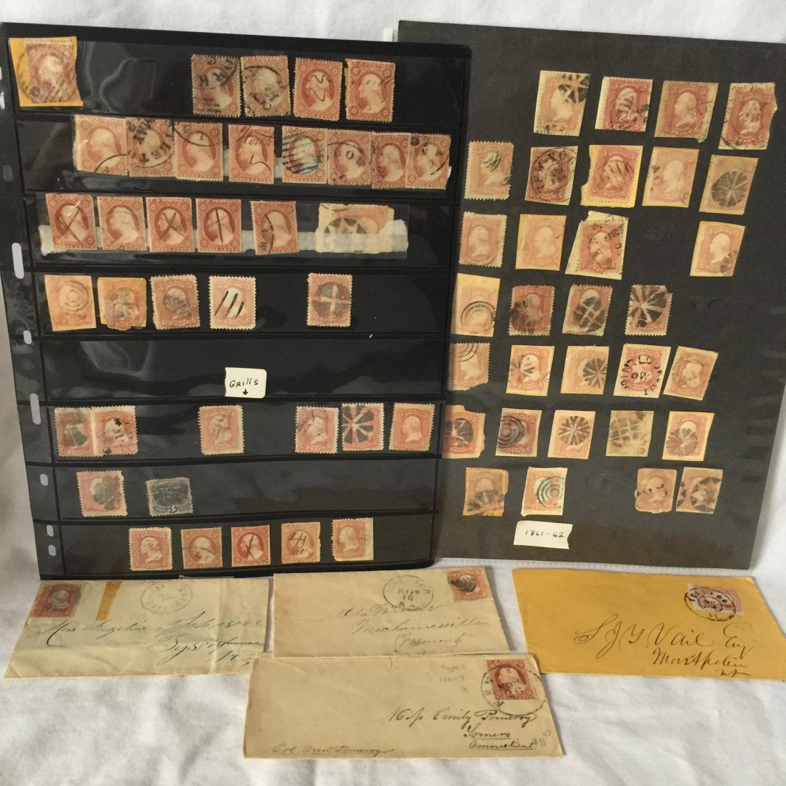 US Classic Stamps & Covers