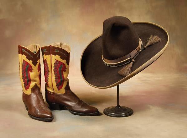 2: Cowboy Hat & Boots
