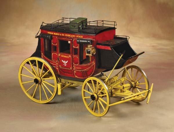 4: Wells Fargo Miniature Stagecoach