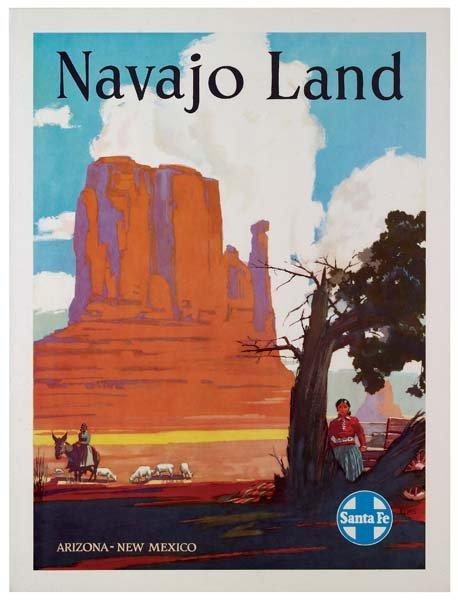 31: Six Santa Fe Railroad Posters - 2