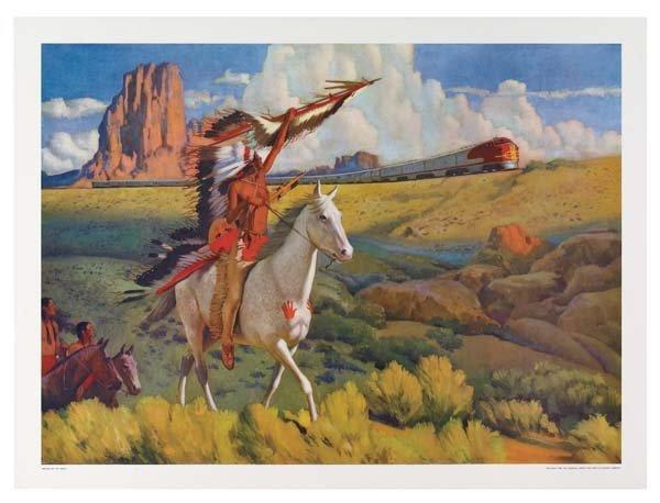 31: Six Santa Fe Railroad Posters - 5