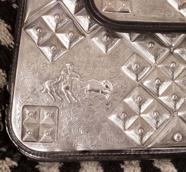 171: Edward H Bohlin Diamond Cluster Supreme Saddle - 7