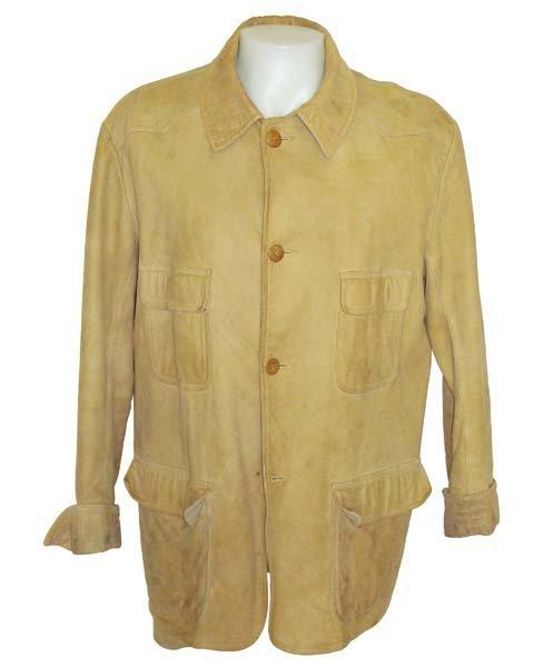 "213: John Wayne ""Western Costume"" Suede Coat"