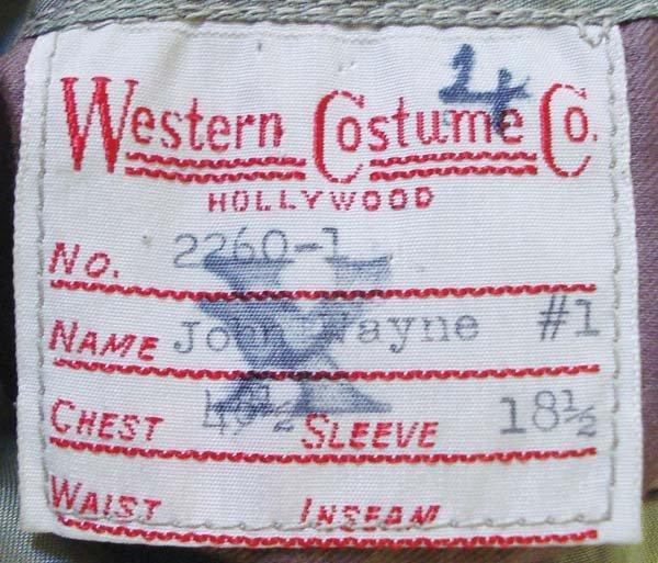 "213: John Wayne ""Western Costume"" Suede Coat - 4"