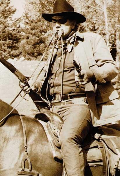 "213: John Wayne ""Western Costume"" Suede Coat - 5"