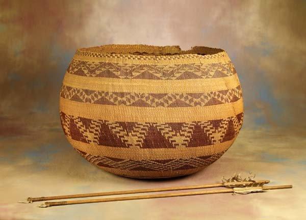 336: Very Large Pomo Basket