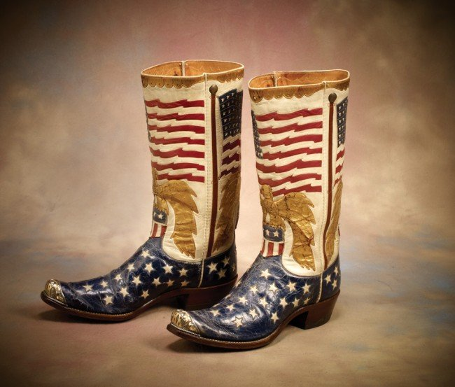 3: Fabulous Star Spangled Banner Boots