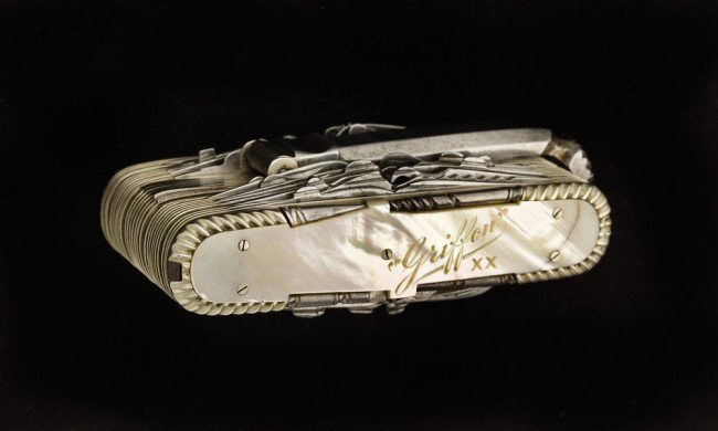 5: Griffon XX Mother-of-Pearl Exhibition Knife