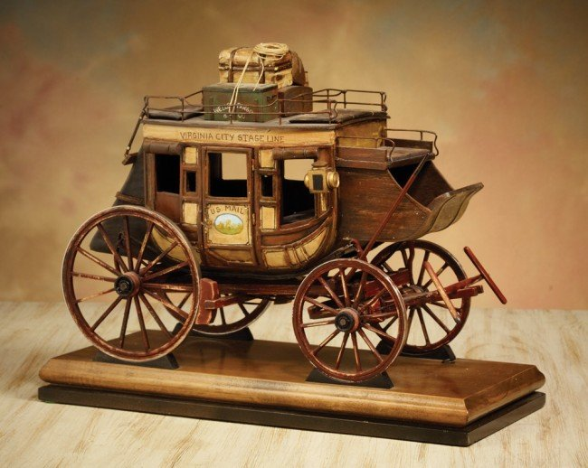 6: Miniature Model Stage Coach