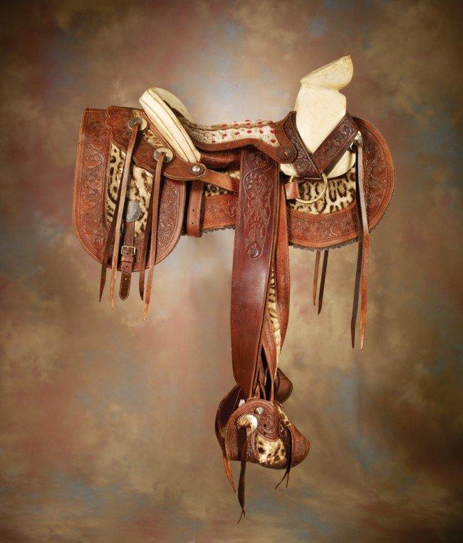 7: Exotic Saddle with Saddlebags