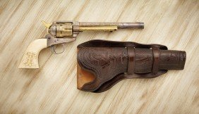 """18: 7 1/2"""" Colt with Ivory Grips"""