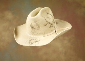 2: Charlie Russell Riders Pictorial Hat