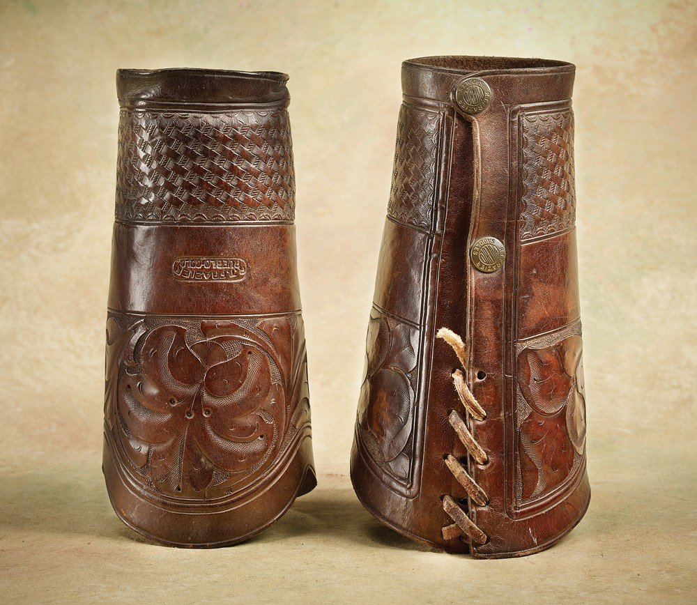 5:  R T Frazier, Pubelo, Colo Cowboy Cuffs
