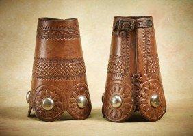 6: Early Wild West Show Cowboy Cuffs
