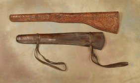 13: Pair of Rifle Scabbards