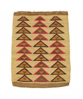 23: Plateau Cornhusk Bag