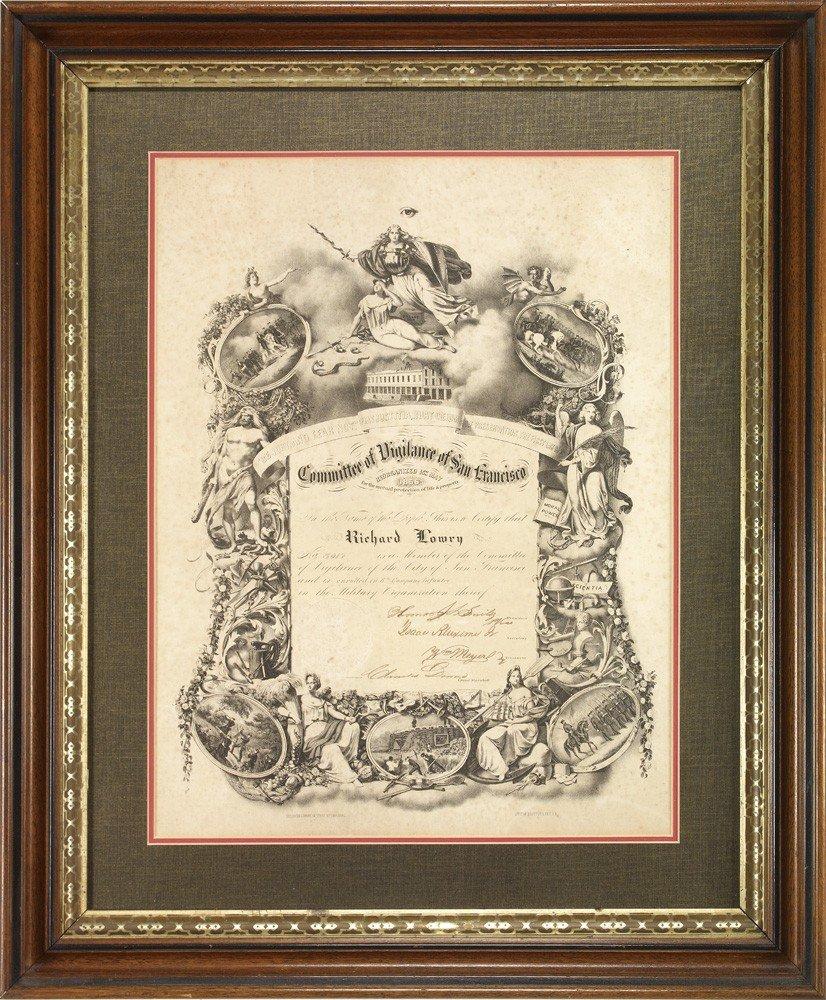 201: 1856 San Francisco Committee of Vigilance