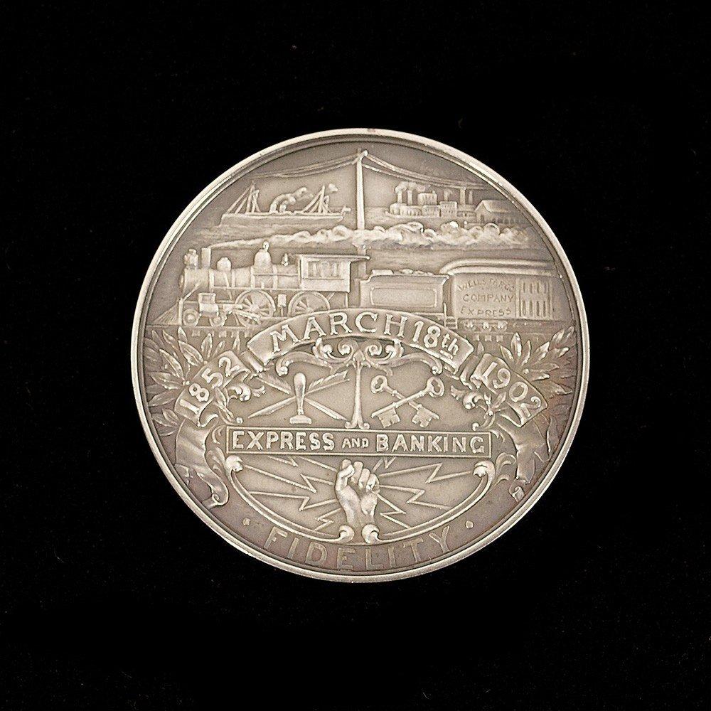 228: Wells Fargo Commemorative Coin in Original Box