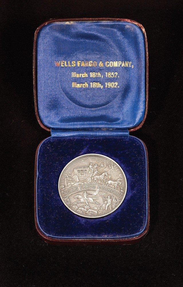 228: Wells Fargo Commemorative Coin in Original Box - 2