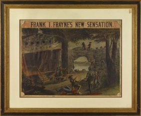 2: 3 Framed Theatre Lithographs