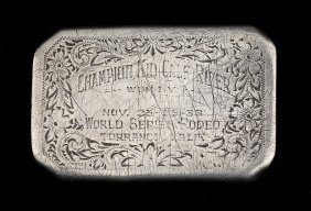 6: 1933 World Series Rodeo Buckle