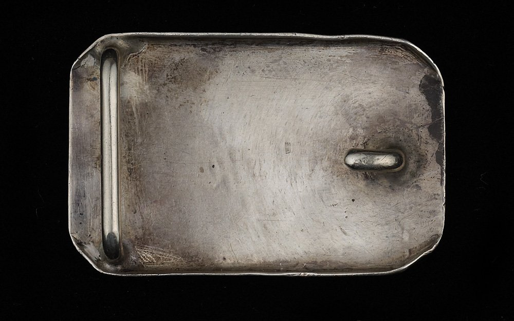 6: 1933 World Series Rodeo Buckle - 2