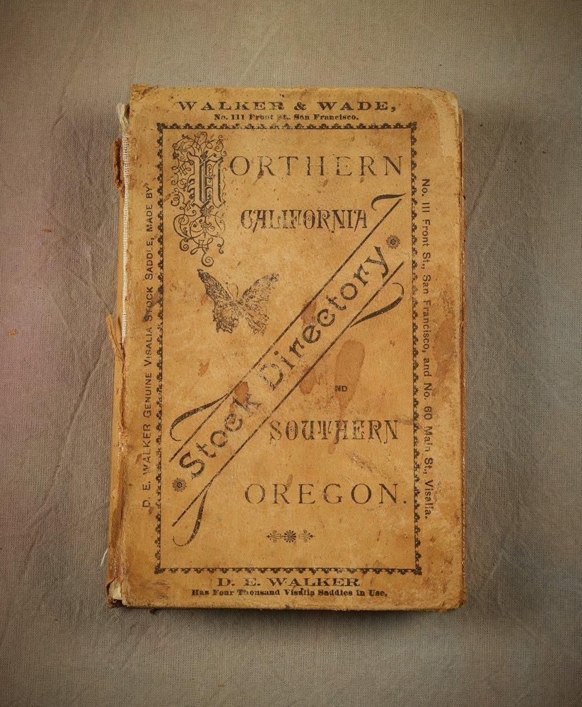 9: 1880s N Cal & S Oregon Brand Book