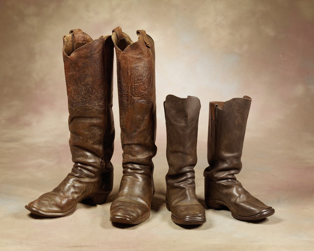 19th Century Father and Son Cowboy Boots