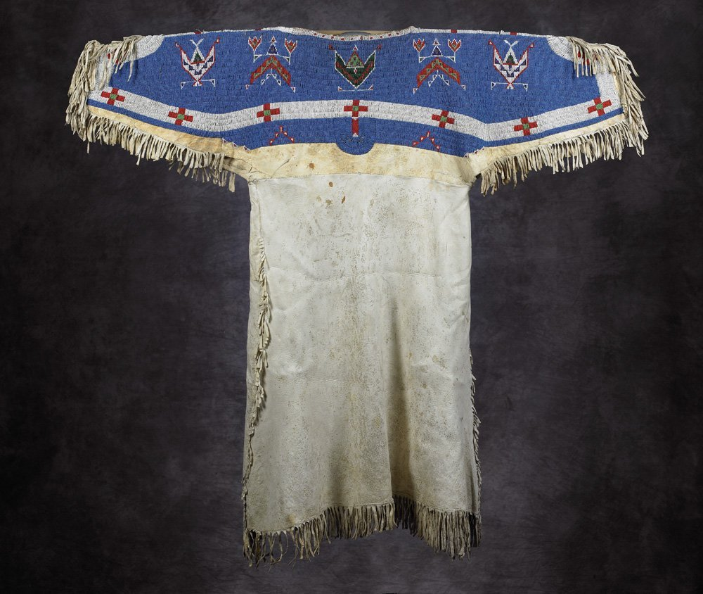 Sioux Beaded & Fringed Dress