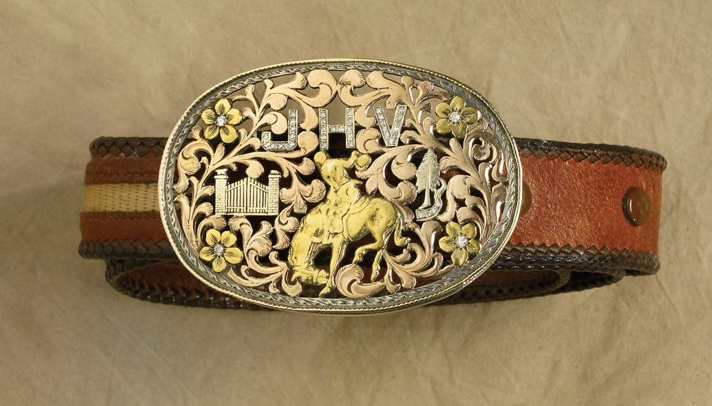 John Volz, Pine Tree Ranch, Bohlin Saddle Set, Bohlin - 8