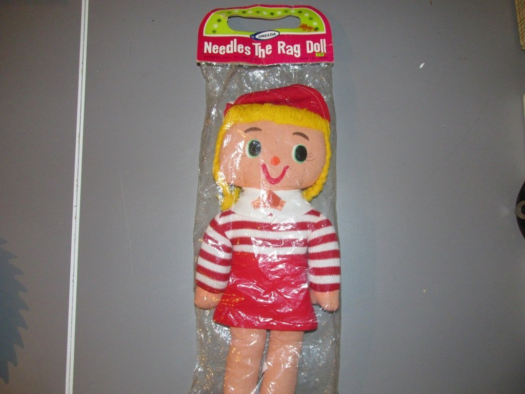 Vintage Needles the rag doll