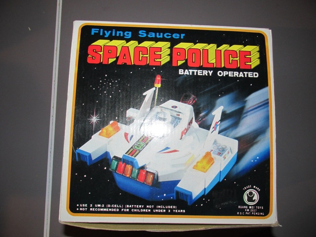 Vintage space police bump and go