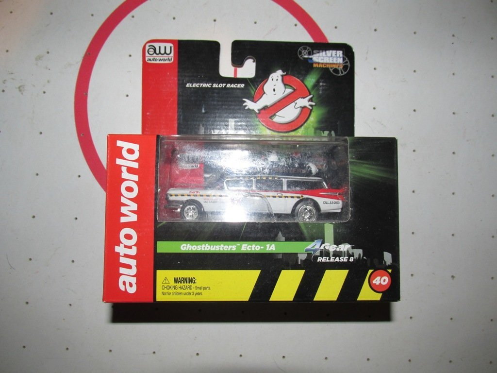 Auto World Ghost Buster slot car 2-3 inches