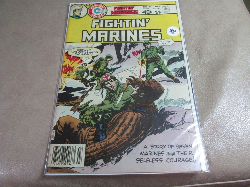 Comic Book Fighting Marines