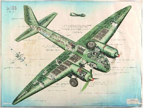 12: - Ju 188 2 B.M.W 801G